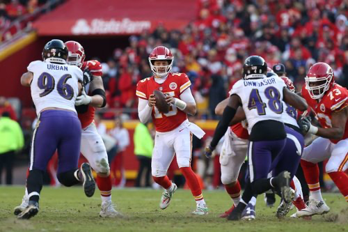 Defensive Notes: Ravens at Chiefs
