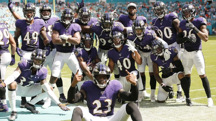 Defense Notes : Ravens @ Dolphins