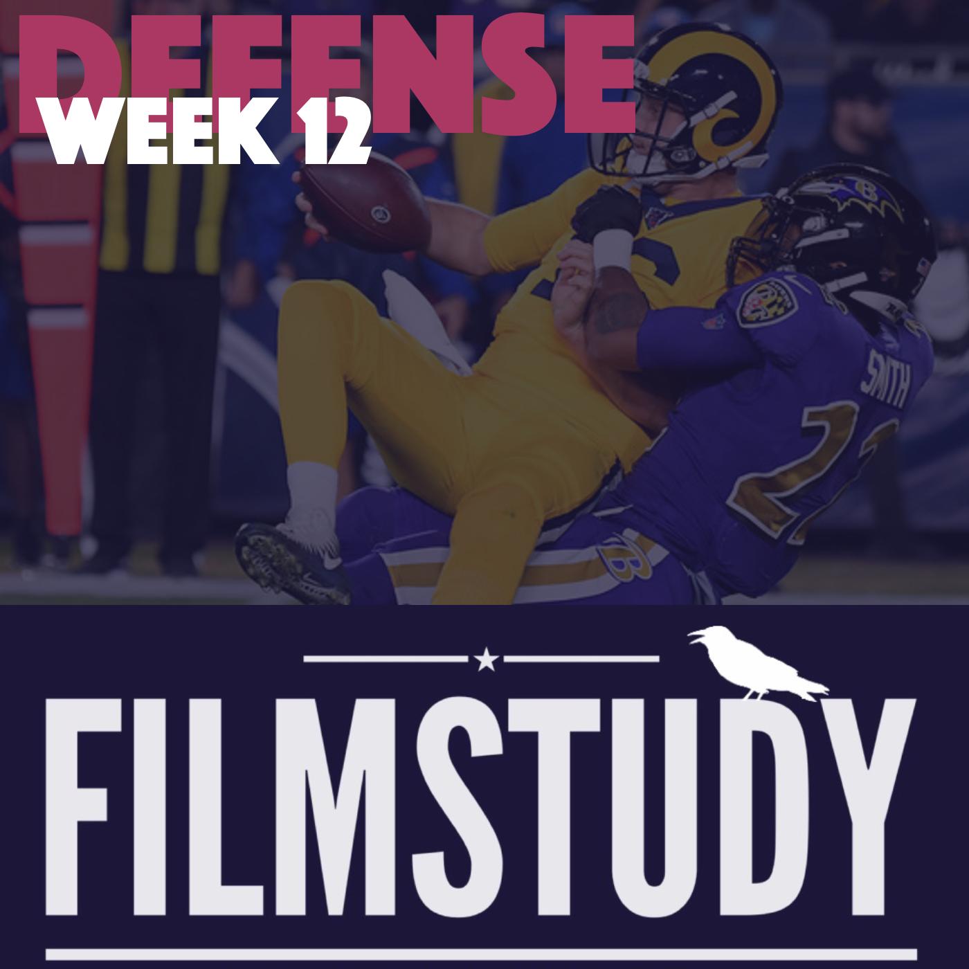 Defense Notes – Week 12 – Ravens @ Rams