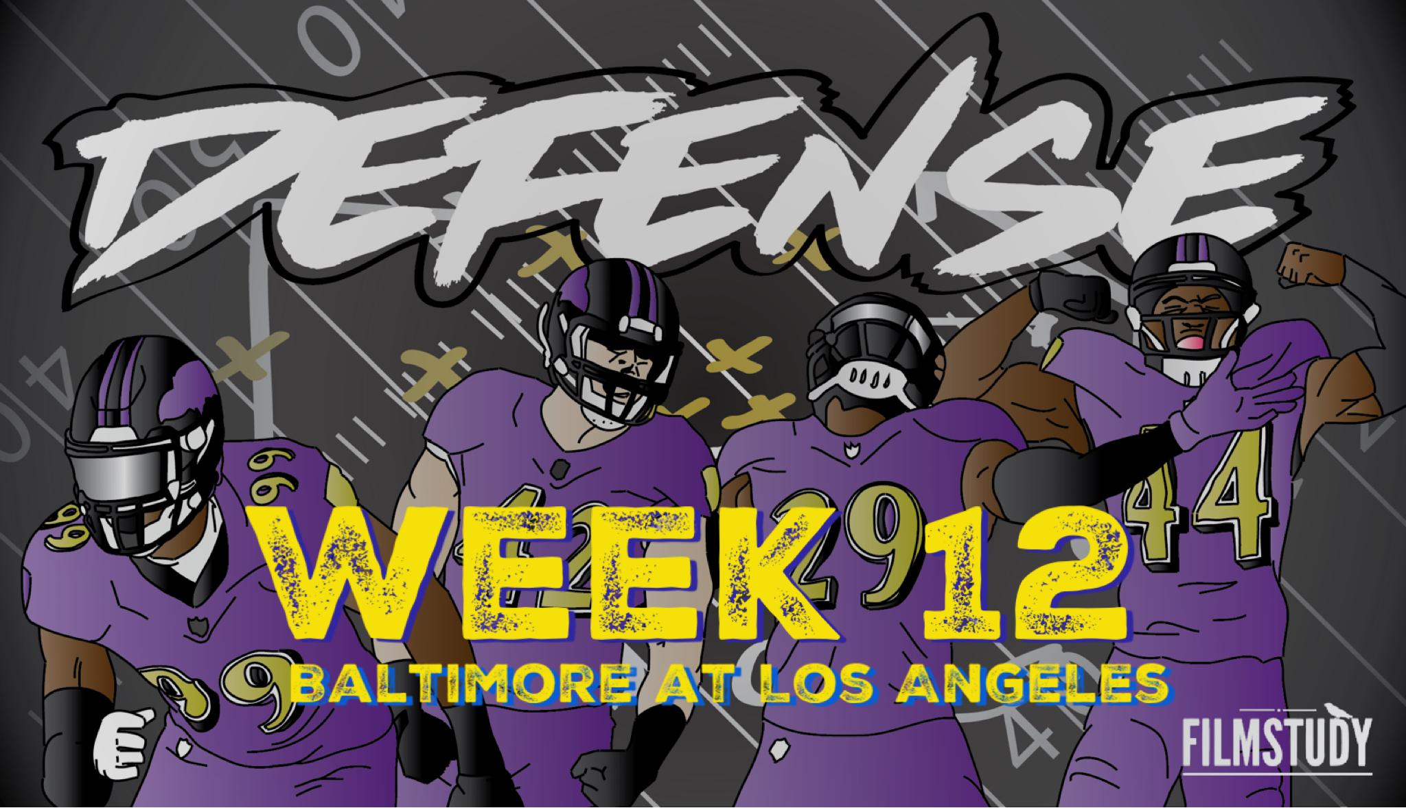 Defensive Notes vs Rams 11/25/19