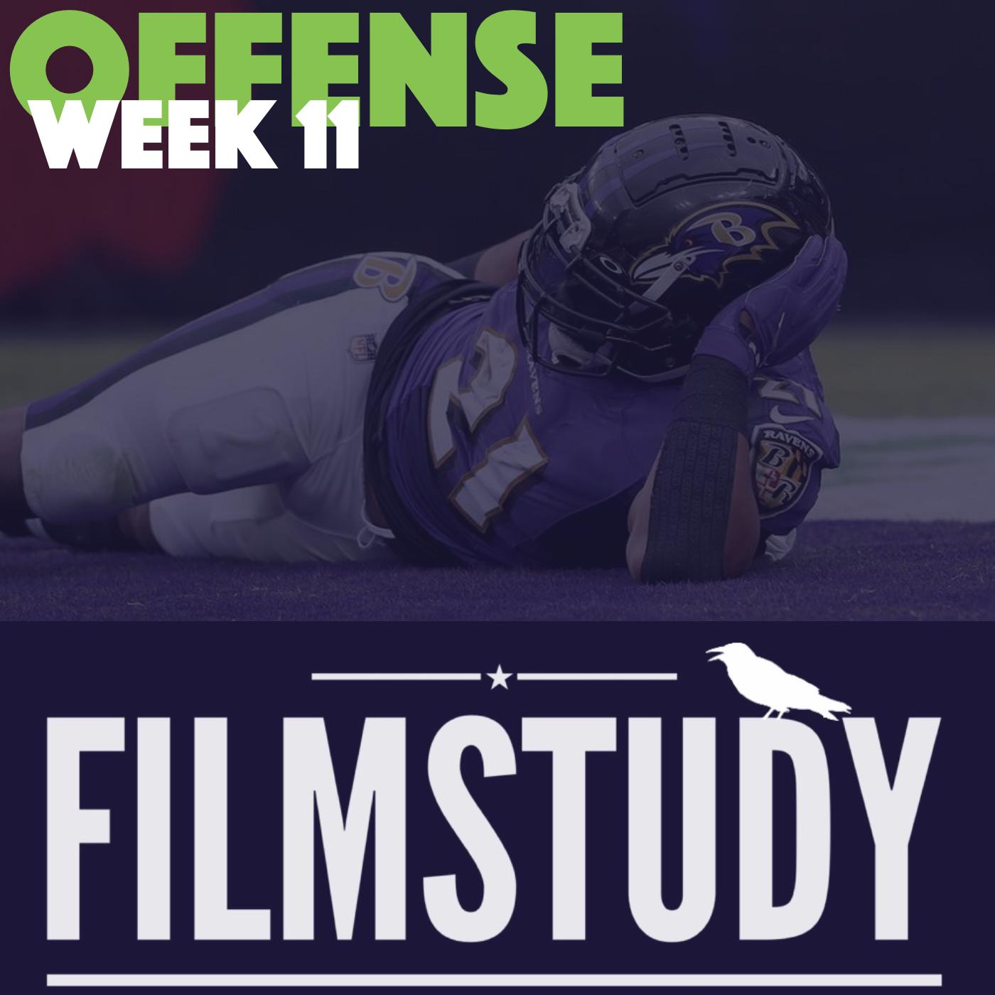 Offense Notes – Week 11 – Texans @ Ravens