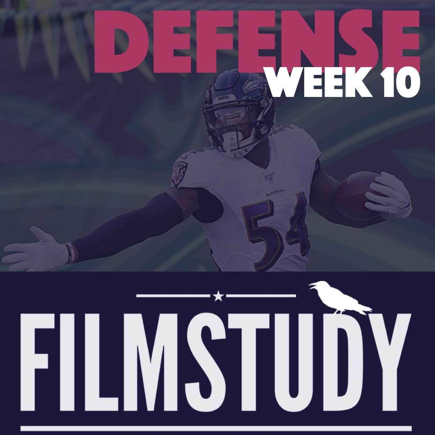 Defense Notes – Week 10 – Ravens @ Bengals