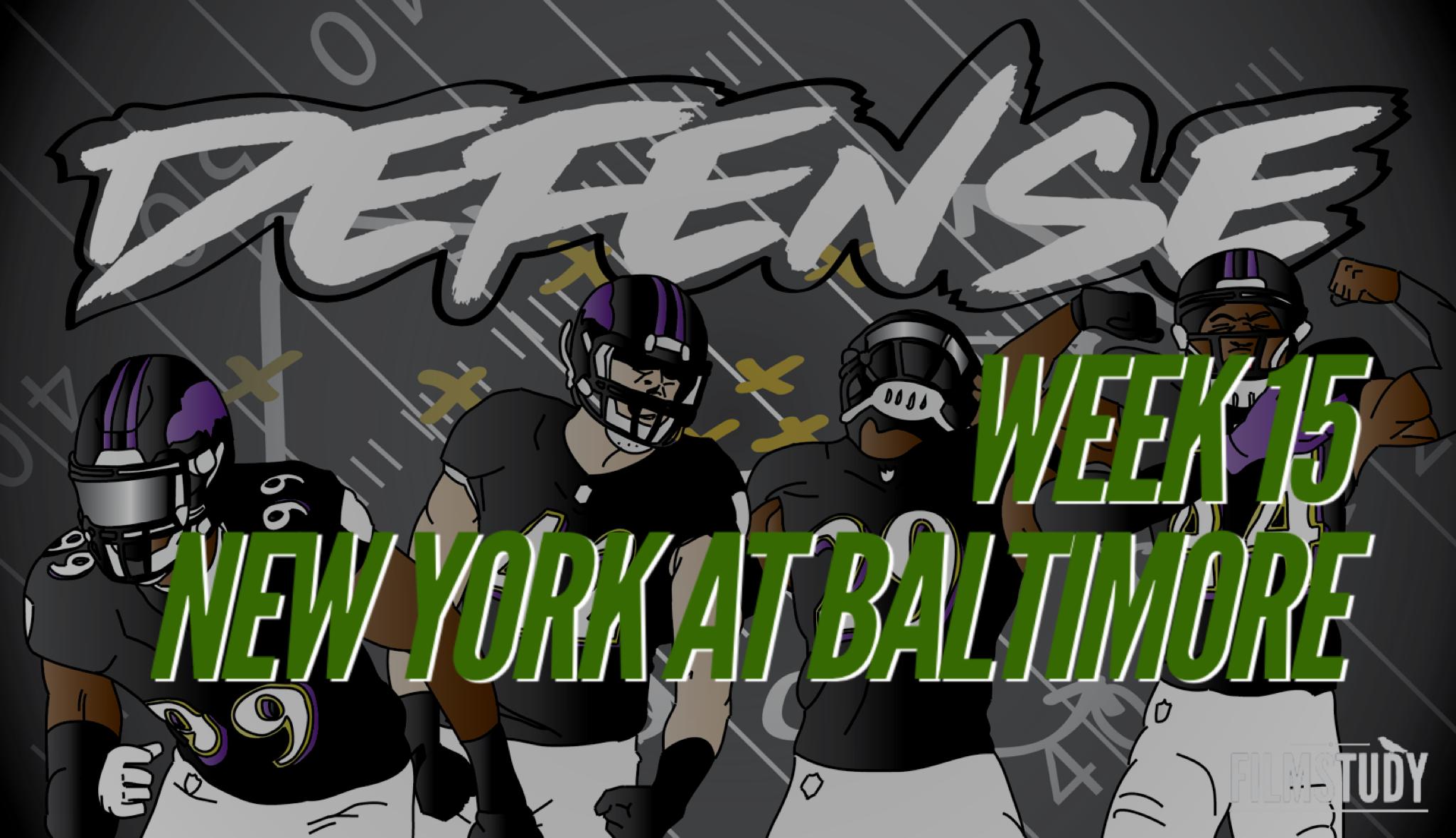 Defensive Notes vs Jets 12/12/19