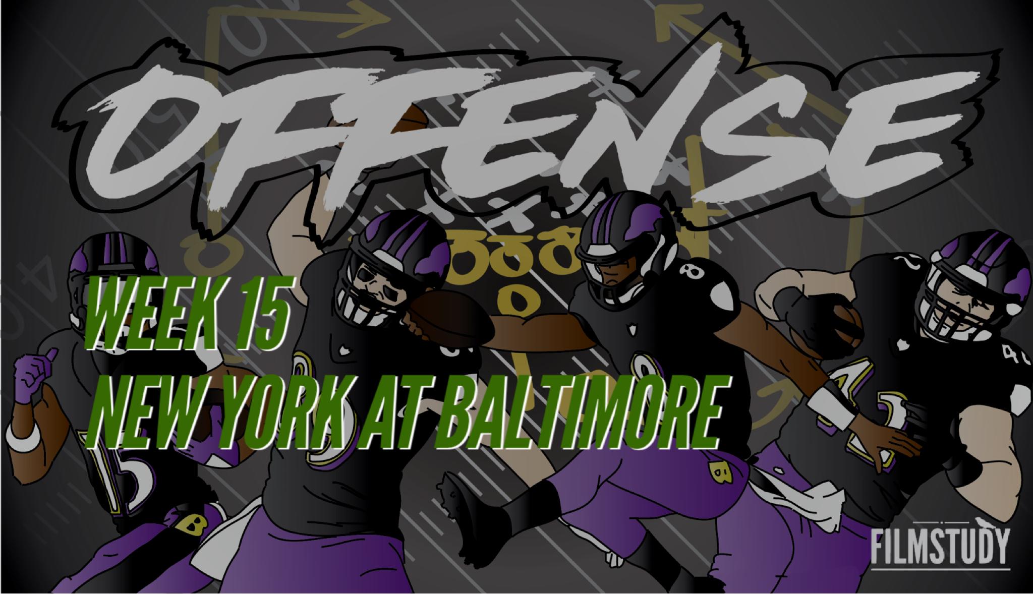 Offensive Line Scoring vs Jets 12/12/19