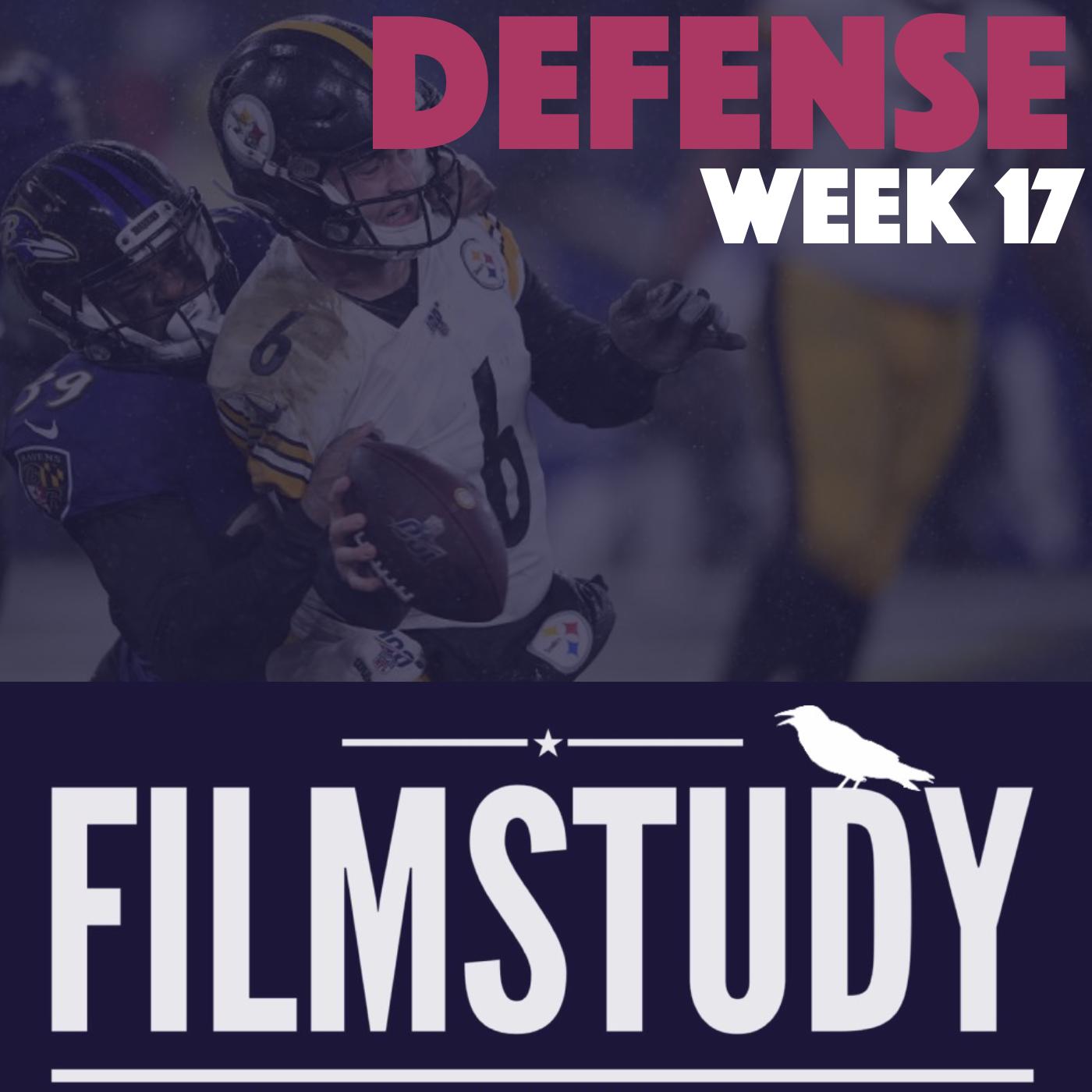 Defense Notes : Steelers @ Ravens Week 17