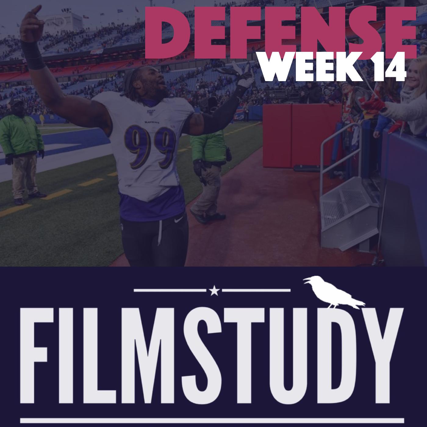Defense Notes – Week 14 – Ravens at Bills