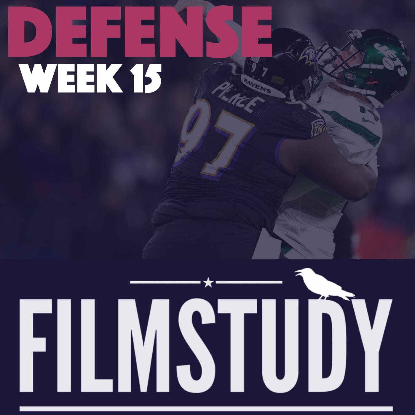 Defense Notes : Jets @ Ravens Week 15