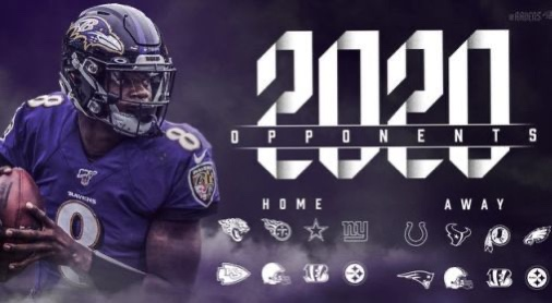 Analyzing the Ravens 2020 Schedule