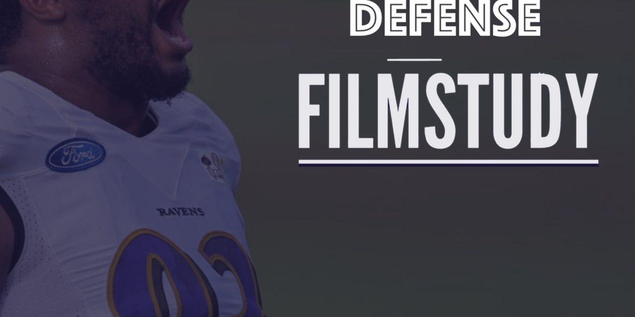 Defense Notes : Week 1 Browns at Ravens