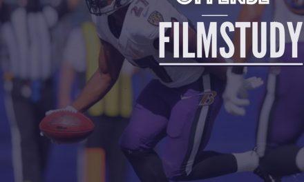 Offense Notes : Week 1 Browns at Ravens