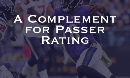 A Complement for Passer Rating