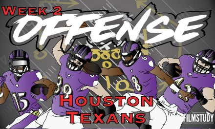Offense Line Scoring Week 2 Baltimore Ravens @ HOUSTON TEXANS