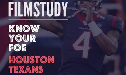 Know Your Foe : HOUSTON TEXANS