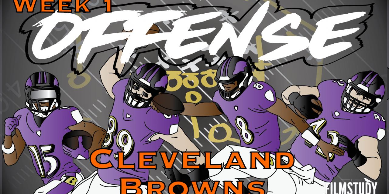 Offense Line Scoring Week 1 vs Browns
