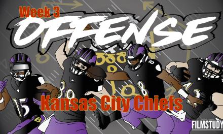 Offense Line Scoring Week 3 Kansas City Chiefs @ BALTIMORE RAVENS