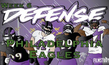 Defensive Notes Week 6 Baltimore Ravens @ PHILADELPHIA Eagles