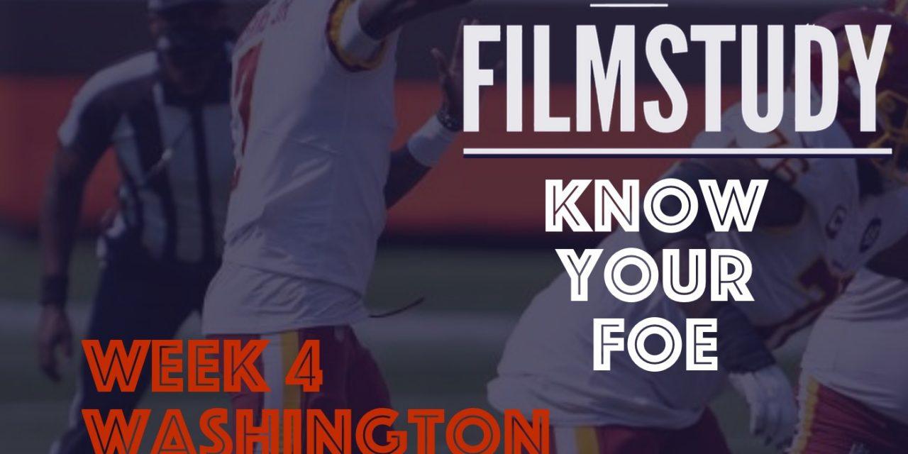 Know Your Foe : Washington Football Team