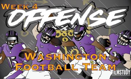 Offense Line Scoring Week 4 Ravens v Washington