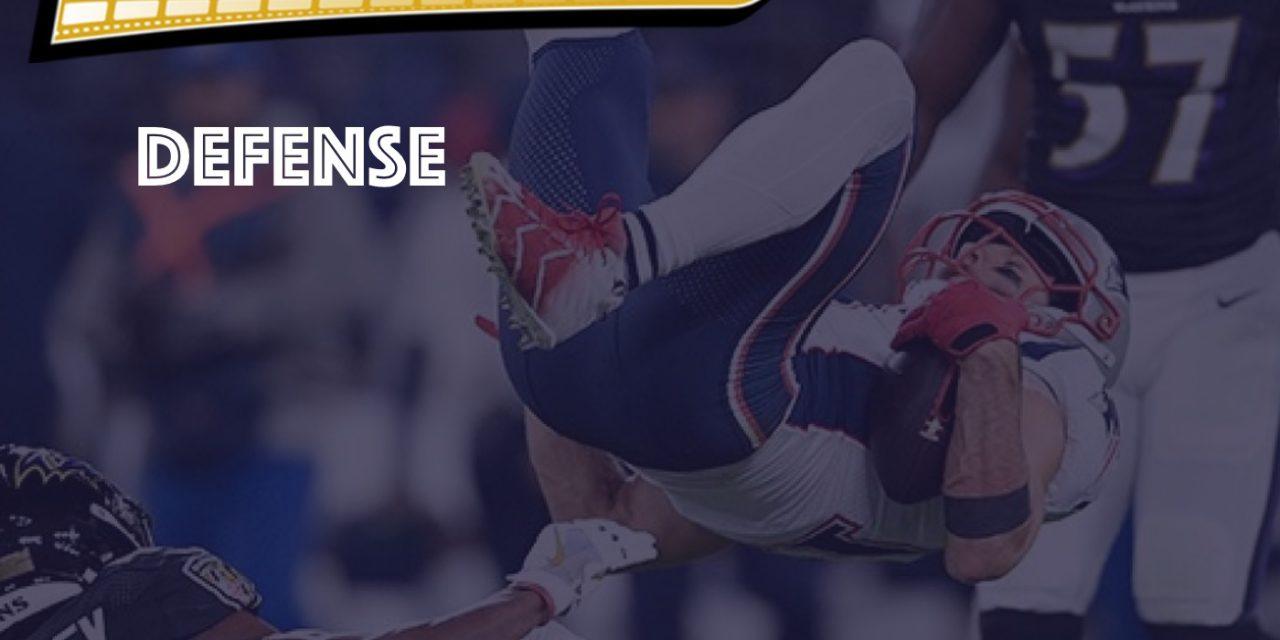 Defensive Notes : Week 10 Ravens @ Patriots