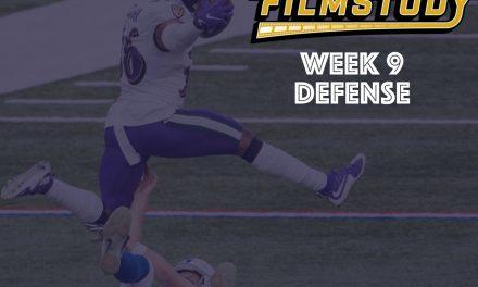 Defensive Notes : Week 9 Ravens @ Colts