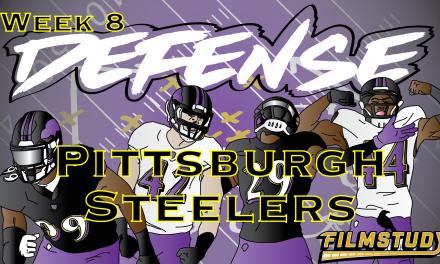 Defensive Notes Week 8 Pittsburgh Steelers @ Baltimore Ravens