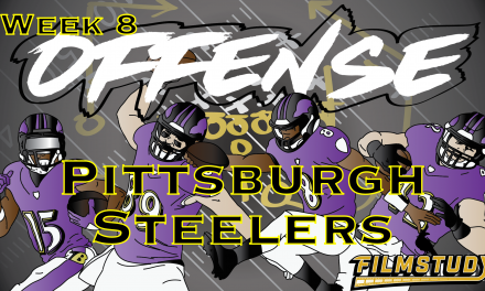 Offense Line Scoring Week 8 Pittsburgh Steelers @ Baltimore Ravens