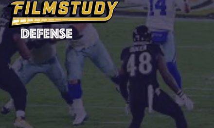 Defensive Notes : Week 13 Cowboys @ Ravens