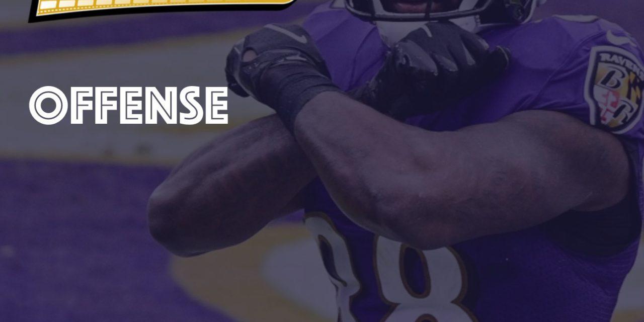 Offense Notes : Week 15 Jaguars @ Ravens