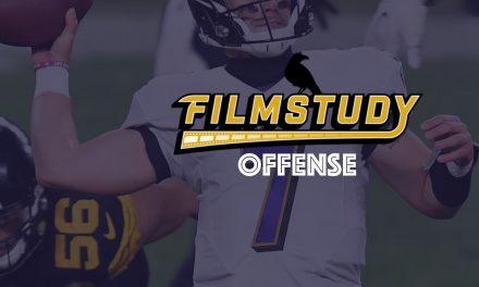 Offense Notes : Week 12 Ravens @ Steelers