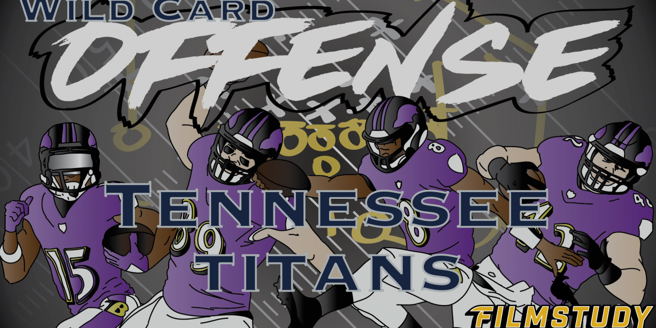Offense Line Scoring AFC Wild Card Baltimore Ravens @ Tennessee Titans