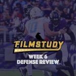 Defense Review : Week 6 – 2021